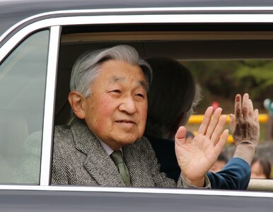 Cesarz Japonii abdykował. Pierwszy taki przypadek od 200 lat