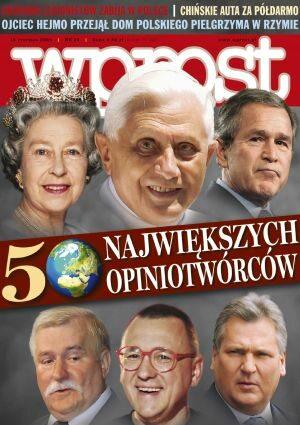 Okładka tygodnika Wprost nr 24/2005 (1176)