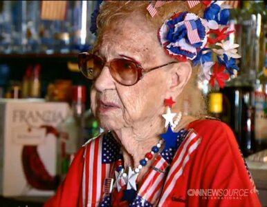 Od 81 lat pracuje jako barmanka. I nie zamierza przestać