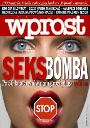Okładka tygodnika Wprost nr 32/2006 (1235)