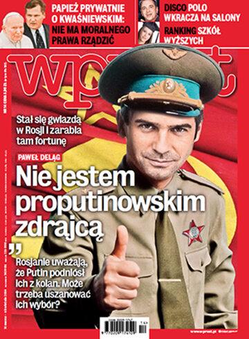 Okładka tygodnika WPROST: 14/2014