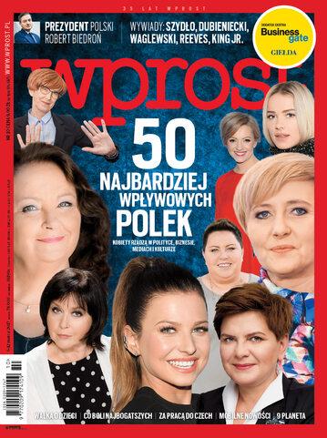 Okładka tygodnika Wprost nr 10/2017 (1777)