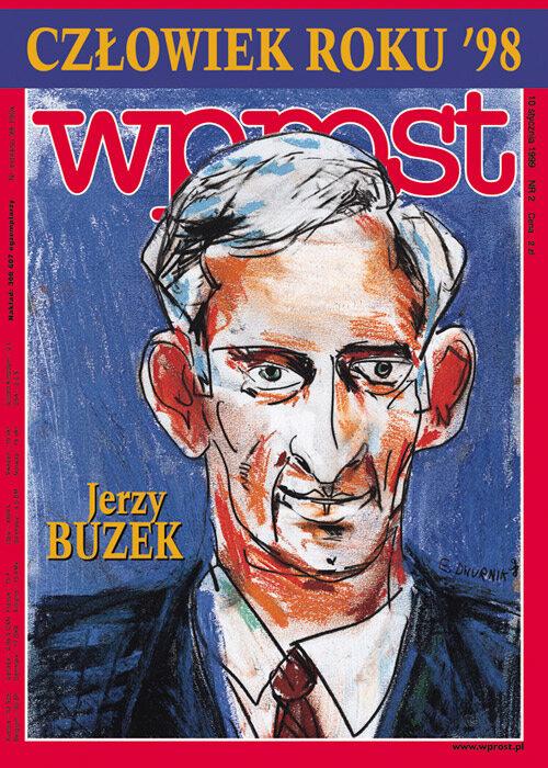 Okładka tygodnika Wprost nr 2/1999 (841)