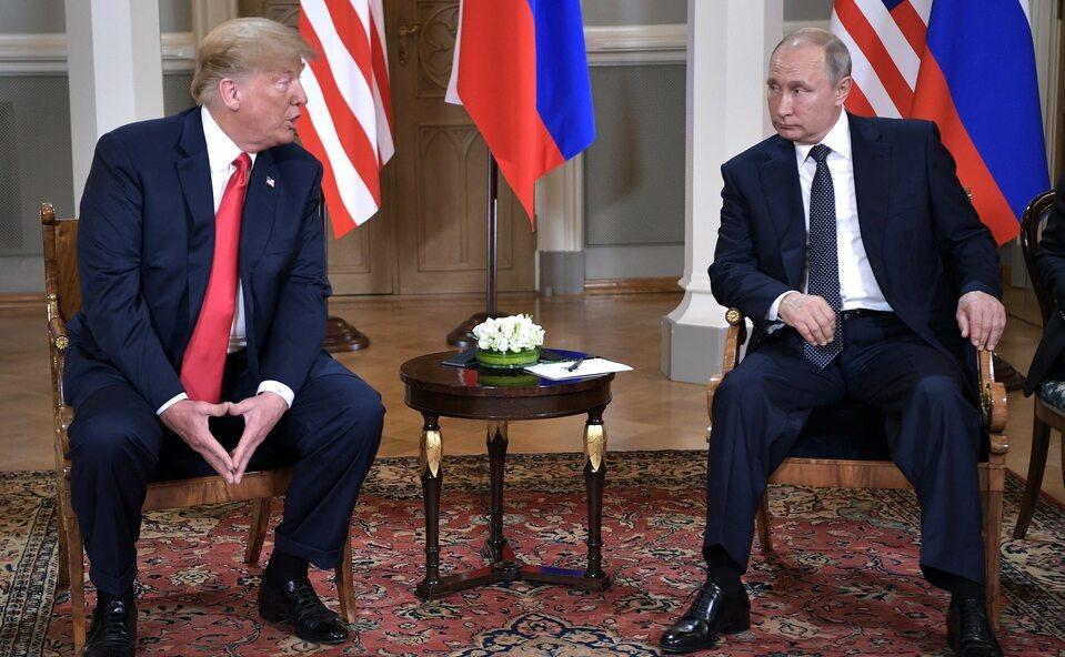 Donald Trump, Władimir Putin