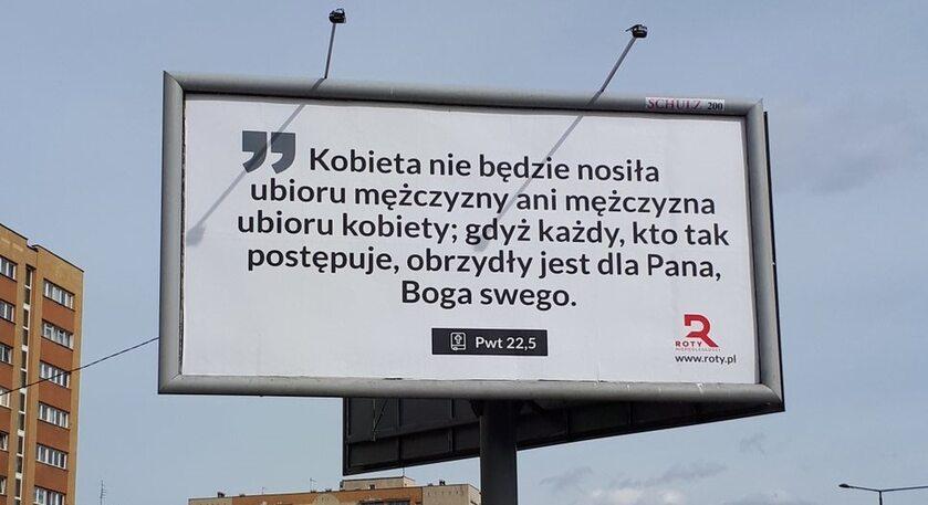 Billboard Rot Marszu Niepodległości