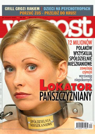 Okładka tygodnika Wprost nr 34/2003 (1082)