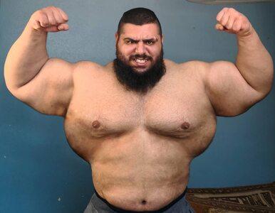 """""""Irański Hulk"""" na gali KSW? Wcześniej chciał walczyć z... dżihadystami"""