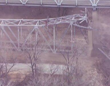 Wysadzili w powietrze most koło Kansas City