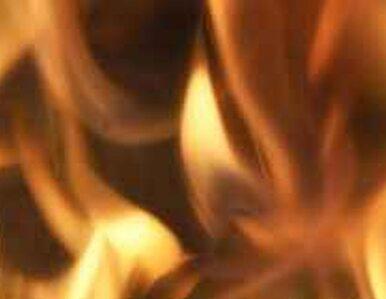 Pożar w centrum Ciechocinka