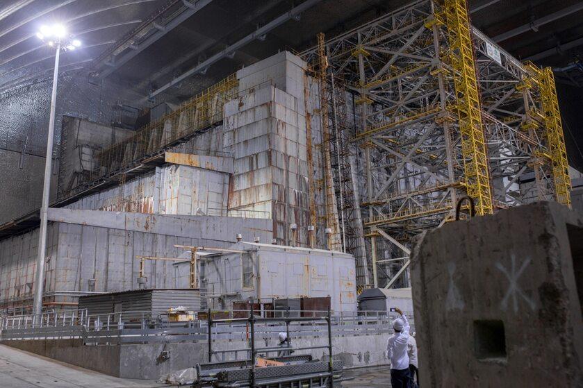 Reaktor 4 elektrowni w Czarnobylu