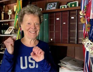 Ma 84 lata, a skacze o tyczce, biega, uprawia trójskok i chce zaliczyć...
