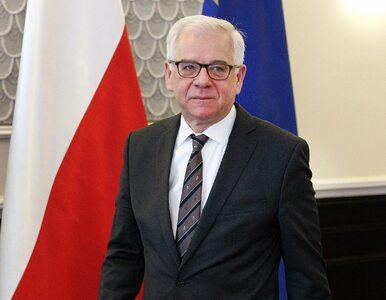 """Czaputowicz wyszedł ze studia RMF FM. """"Nie wie co się wydarzyło w Nowej..."""