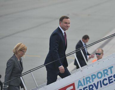 Prezydent Andrzej Duda rozpoczął wizytę w Estonii
