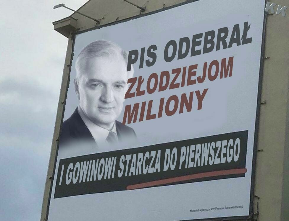 Przerobiony billboard