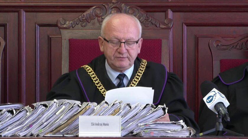 Sędzia Andrzej Mania