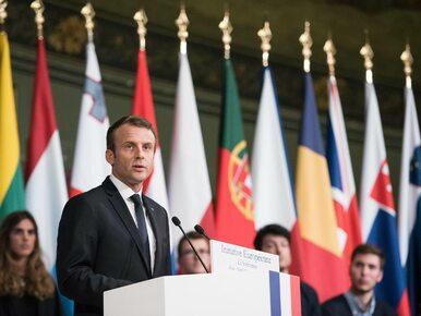 Macron krytycznie o polityce polskiego rządu: Wprowadzenie proponowanych...