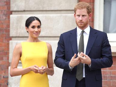 Meghan Markle i książę Harry złamali królewski protokół?