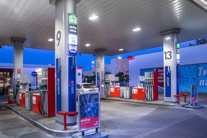 Stacja ORLEN, zdjęcie ilustracyjne