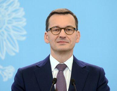 Premier Morawiecki: Cieszę się, że jestem częścią drużyny, która zmienia...