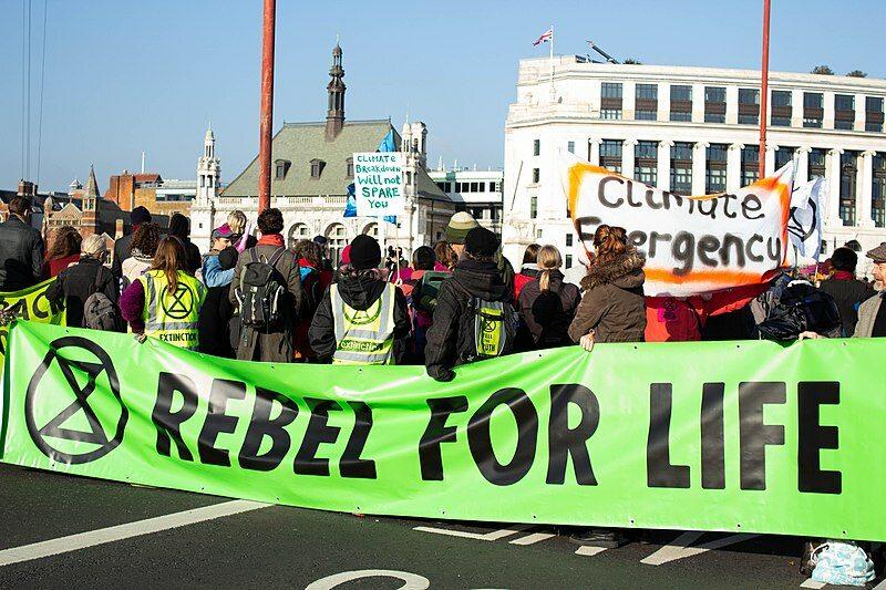 Jeden z międzynarodowych protestów Extinction Rebellion (zdj. ilustracyjne)