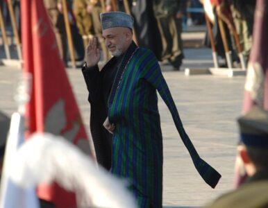 Karzaj wzywa talibów do rozmów pokojowych
