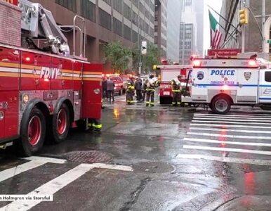 Katastrofa na Manhattanie. Helikopter uderzył w wieżowiec, co najmniej...