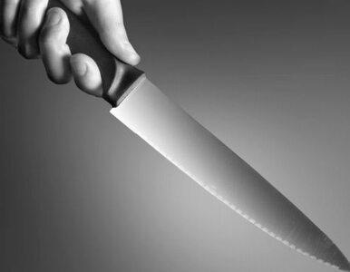 Zranił się nożem i wezwał policję. Oskarżył partnerkę, bo...