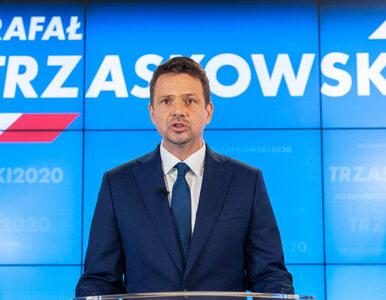 """""""Wesz pisowska"""", """"Spiepr*** dziadu"""". Zamieszanie na wiecu Trzaskowskiego"""