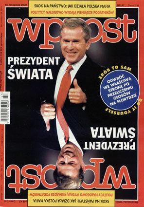 Okładka tygodnika Wprost nr 47/2000 (938)