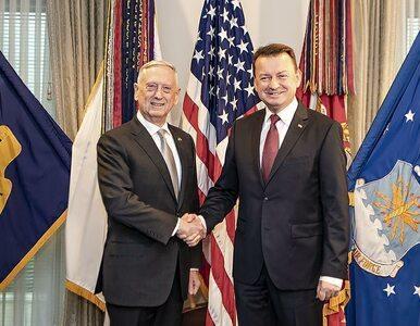 """Błaszczak rozmawiał z szefem Pentagonu. """"Kolejny krok w stronę..."""