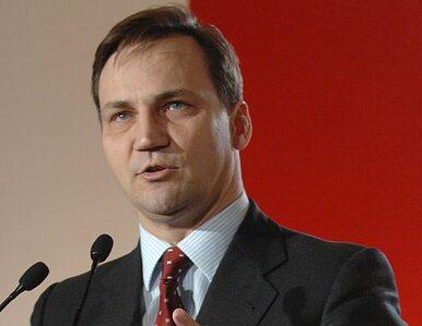 Sikorski zostanie szefem dyplomacji UE? Czeka go starcie z włoską minister