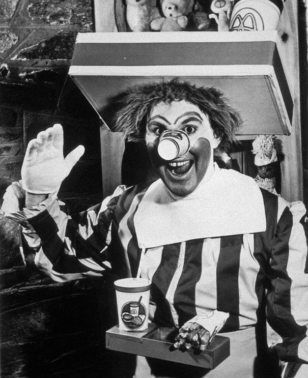 Ronald McDonald, 1963 (fot. boredpanda.com)