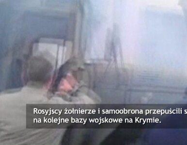 Rosjanie przejmują bazę lotniczą w Nowofedoriwce