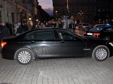 Kolejna kolizja SOP. Auto z kolumny marszałka Sejmu uderzyło w bariery