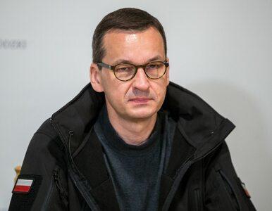 Mateusz Morawiecki ucierpiał przez ulewę. Premier pokazał zdjęcie