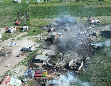 Eksplozje w zakładzie produkującym fajerwerki. Co najmniej 16 ofiar...