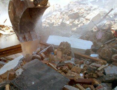 Krosno: Zawaliła się ściana budynku. 3 osoby ranne