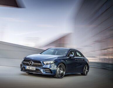 306 KM plus duży bagażnik. Nowy Mercedes A 35 od AMG