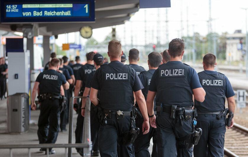 Niemiecka policja (zdj. ilustracyjne)