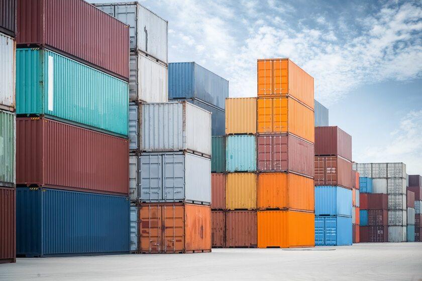 Kontenery, eksport (zdj. ilustracyjna)