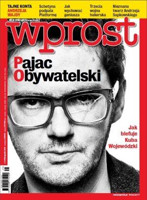 Okładka tygodnika Wprost nr 45/2013 (1602)