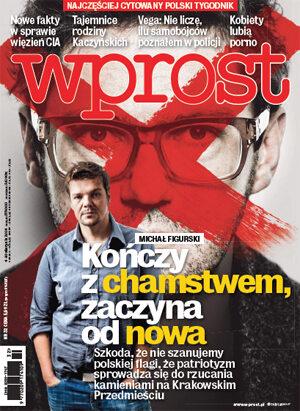 Okładka tygodnika Wprost nr 32/2014 (1640)