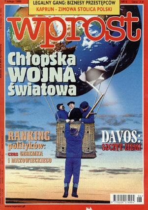 Okładka tygodnika Wprost nr 6/1999 (845)