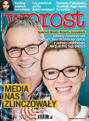 Okładka tygodnika Wprost nr 21/2014 (1629)