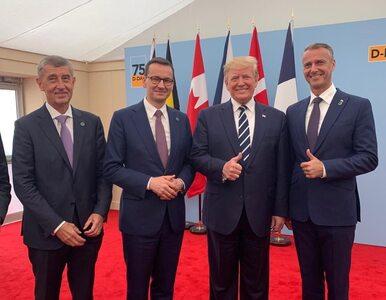 D-Day w Portsmouth. Morawiecki spotkał się z Trumpem i Merkel