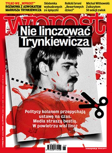 Okładka tygodnika Wprost nr 6/2014 (1614)