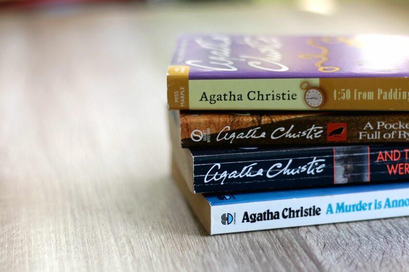Książki Agathy Christie, zdjęcie ilustracyjne