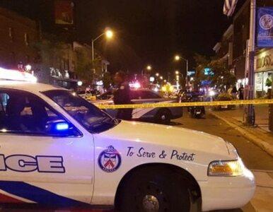 Napastnik otworzył ogień do ludzi w Toronto. Jedna osoba nie żyje, 13...