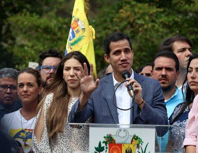 """""""Tymczasowy"""" prezydent Wenezueli uzyskał poparcie Australii"""