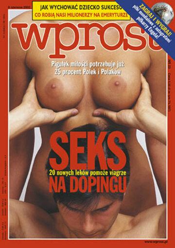 Okładka tygodnika Wprost nr 23/2002 (1019)